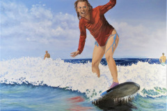 Beverly_Theriault-Surfing-Lessons1_Oil