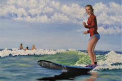 Beverly_Theriault-Surfing-Lessons2_Oil