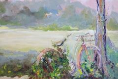 Cheryl_Mabry-End-of-Ride-Oil-Acrylic