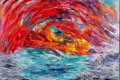 Karen_Harris-Crimson-Cave_Oil-Acrylic