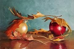 Pete_Quaid-Oak-Leaves-and-Ornaments-Oil