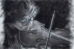 Steve_Miller-Remembering-Beethoven_PastelGraphics-Charcoal