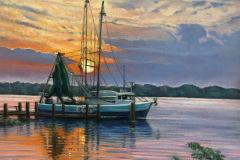 Wendy_Koehrsen-Hilton-Cove_Pastel
