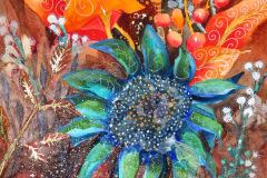 Darla_Bostick-Blue-Sunflower-WaterMedia