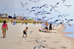 Michael_Archer-Bird-Feeder_Watermedia