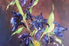 Cheryl_Mabry-Flowers-forGrandma-Oil-Acrylic