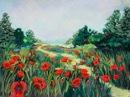 DonnaChambers-Field-of-Red-Flowers-PastelGraphics-275