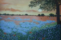 RosalidaTrevinoStone-Texas-Spring-Sunset-Oil