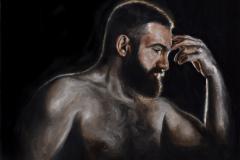 Benjamine_Lester-Self-Portrait-Oil-Acrylic-1000