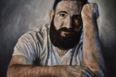 Benjamine_Lester-Self-Portrait2-Oil-Acrylic-1200