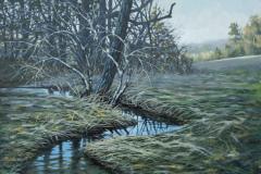 Steve_Miller-Winter-Stream-Oil-Acrylic-NFS