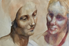 Ted Houston-Homage-to-DaVinchi-watercolor-240